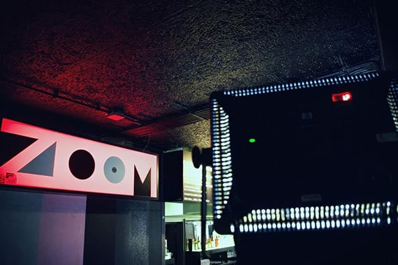 Die Location für die moveClubNight ist der Zoomclub