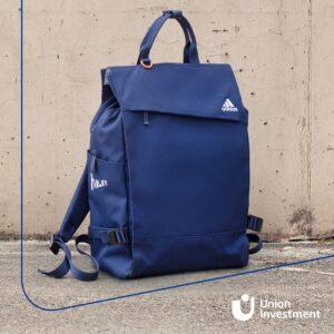 Nachhaltig Sparen: Adidas Rucksack aus Parley Ocean Plastic